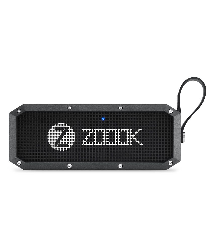 Zoook Rocker Armor XL (30W) Bluetooth Speaker with Twin Bass Radiators and 4400 mAh Battery