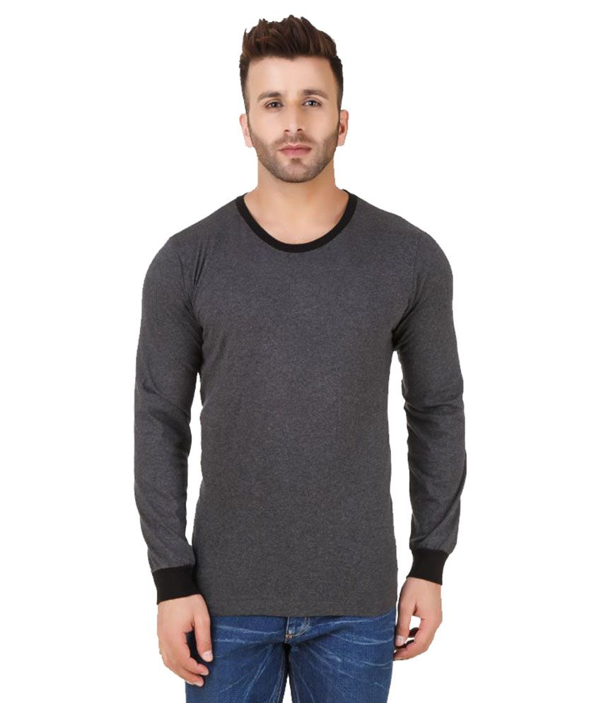 Fabstone Collection Grey Round T-Shirt
