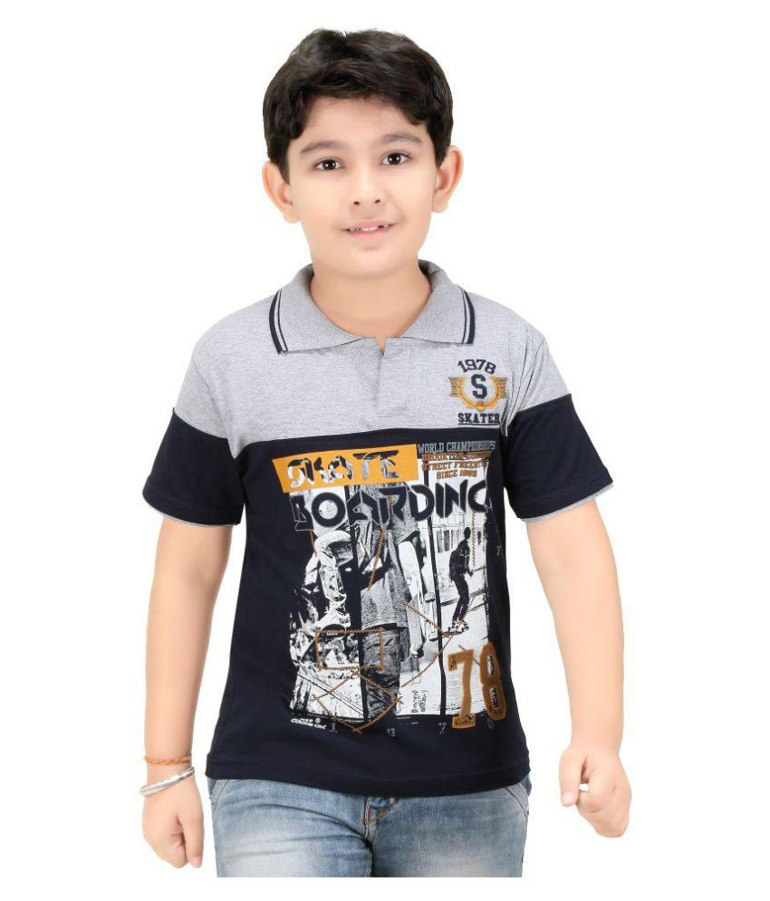 colour kids boys printed polo t shirts - Pictures To Colour For Boys