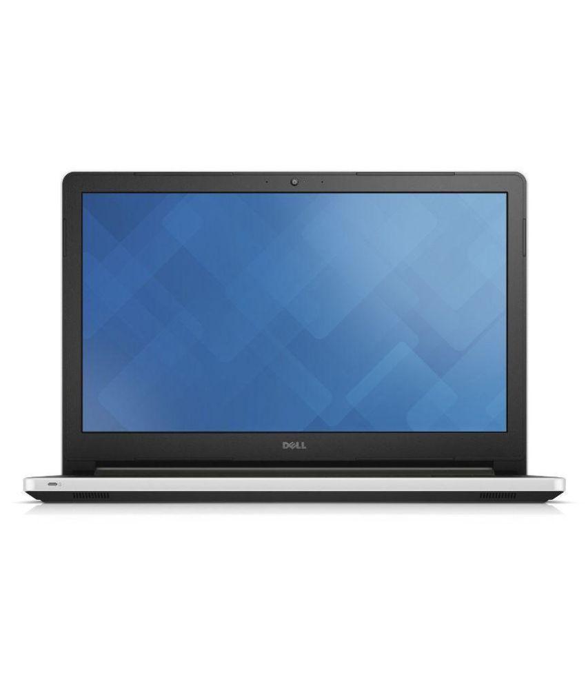 Dell Inspiron 15 5559 Notebook (6th Gen Intel Core i3- 4GB RAM- 1TB HDD- 39.62cm (15.6)- Windows 10) (Silver)