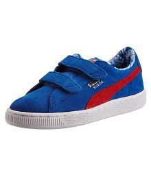 Puma Suede Superman Kids Leather Shoes