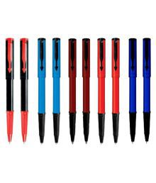 Parker Beta Standard Ball Pens Multicolour- Pack Of 10