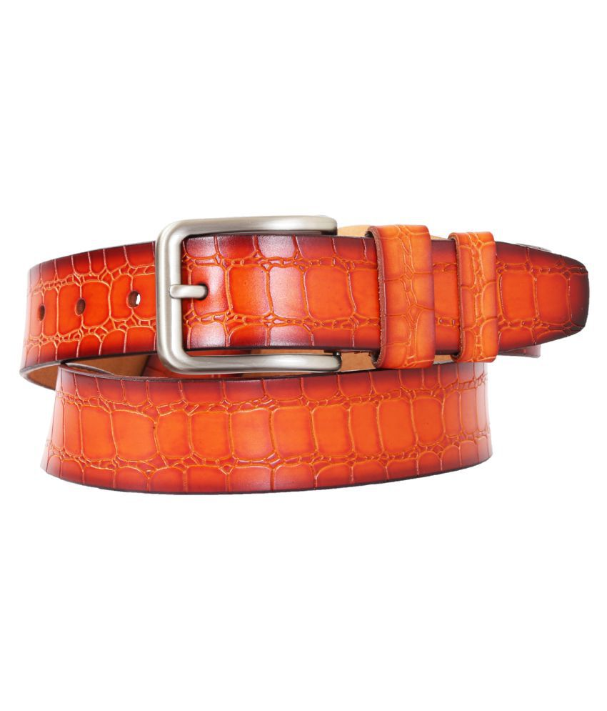Schmick Tan Leather Casual Belts