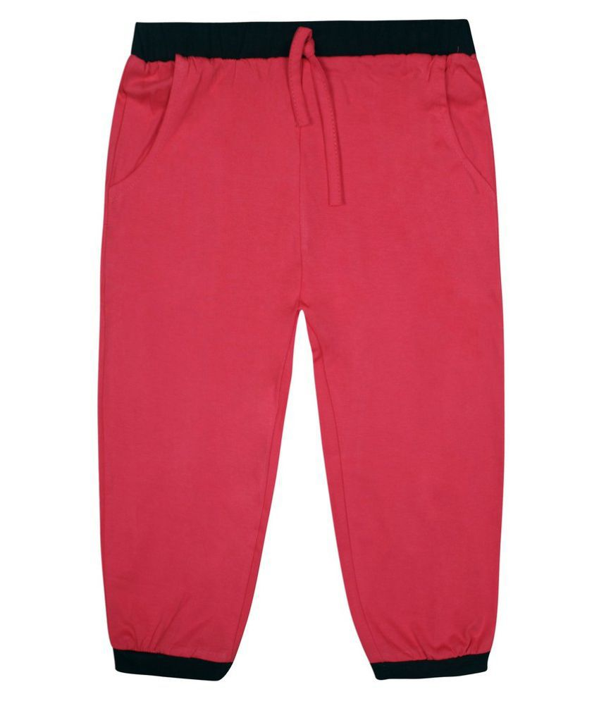 Jazzup Pink Cotton Capris