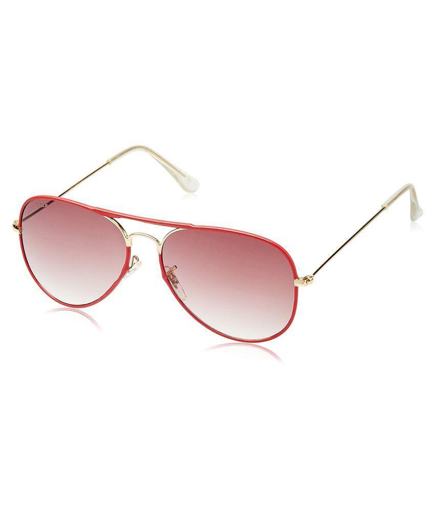 Joe Black Red Aviator Sunglasses ( JB-739-C3 )