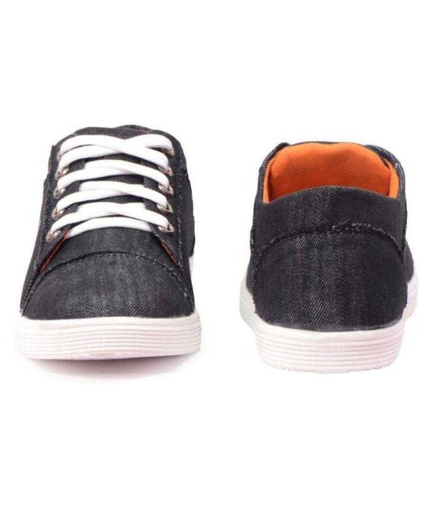 fa425788532b48 Messi Lifestyle Black Casual Shoes Messi Lifestyle Black Casual Shoes ...