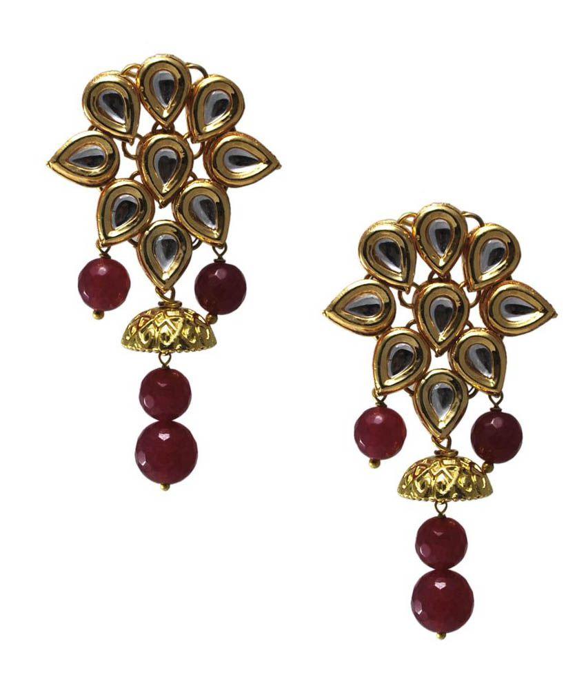 TwishQ Golden Earrings