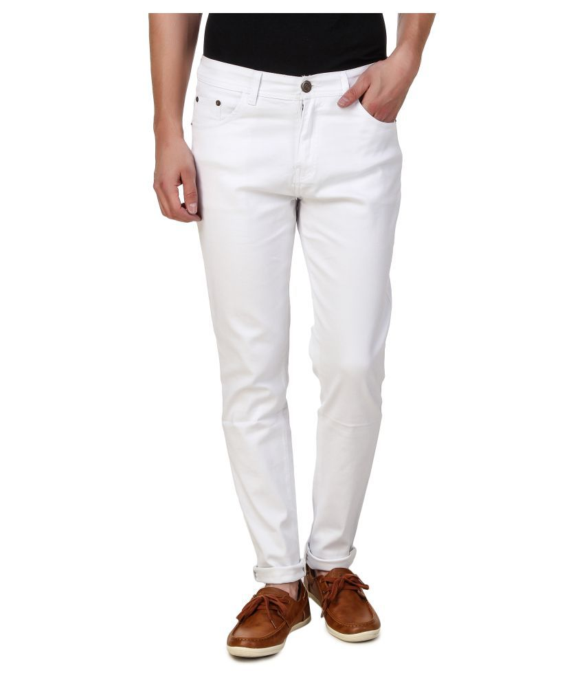 5ACE White Slim Solid
