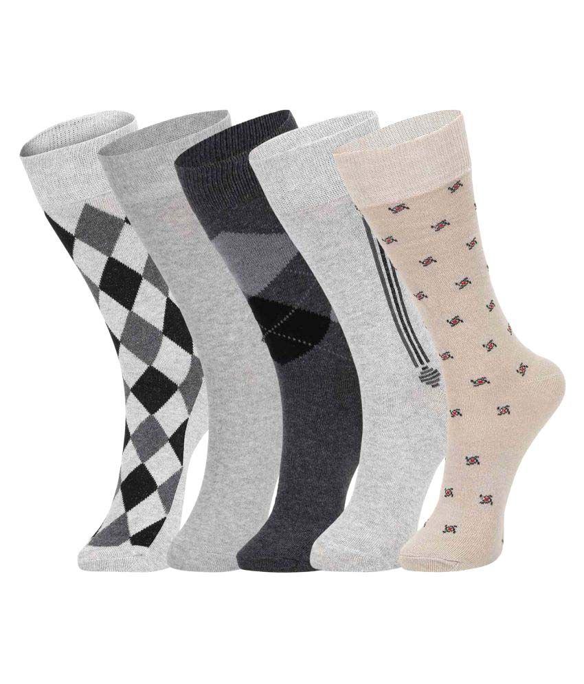Dukk Multi Casual Full Length Socks