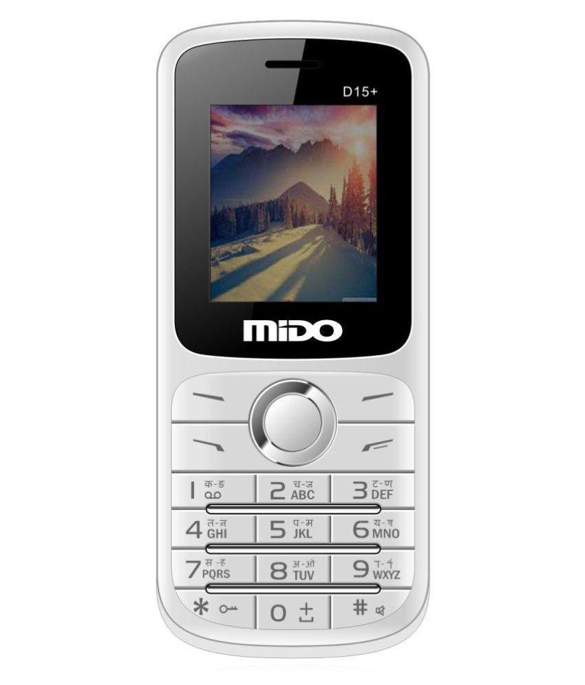 Mido D15+ White