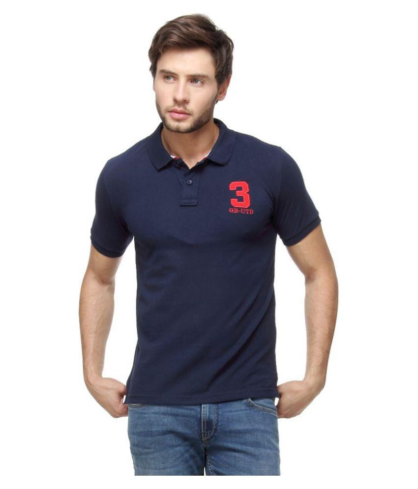 Pepe Jeans Navy Slim Fit Polo T Shirt