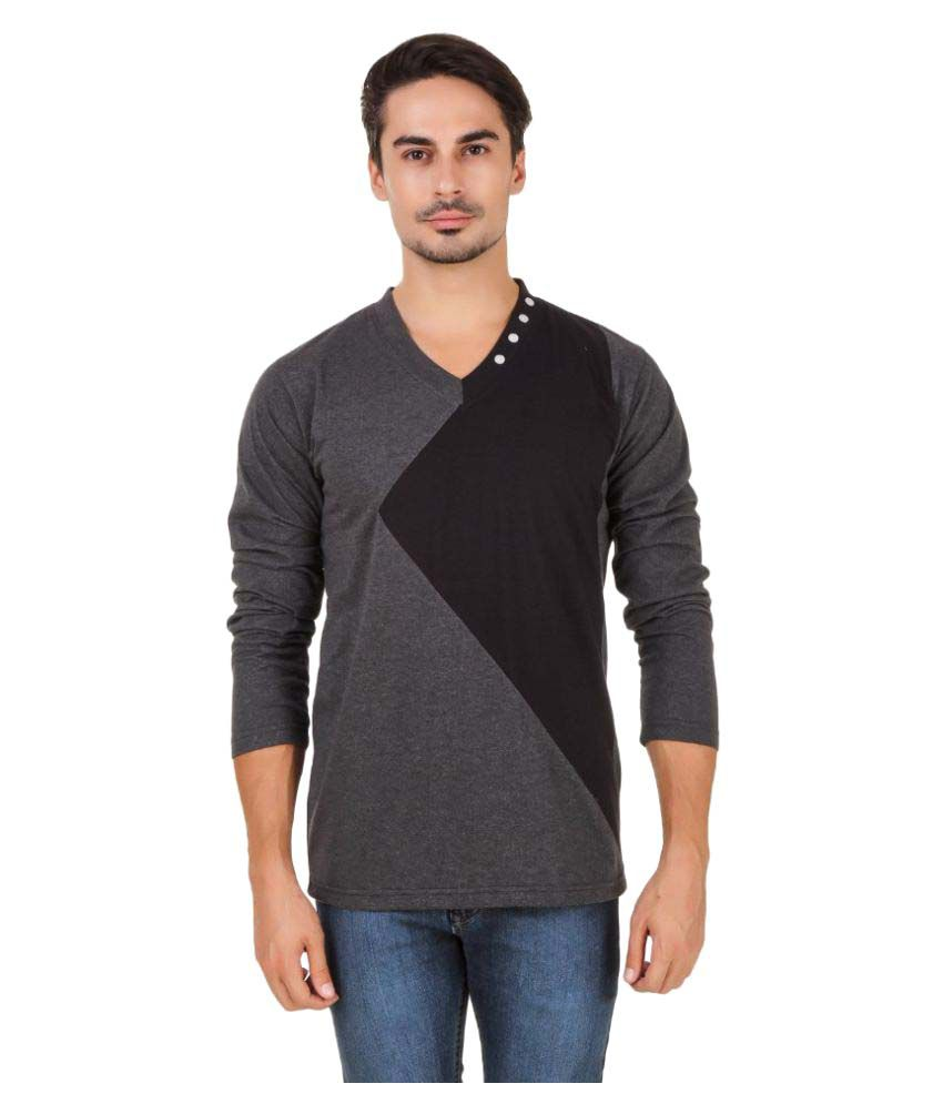 Aurelio Marco Multi V-Neck T-Shirt