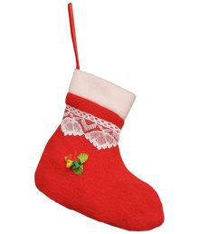 Indigo Creatives Nylon Christmas Decoration Red