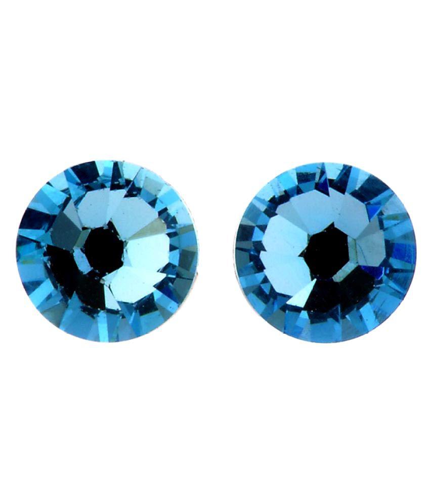 Kalon Blue Alloy Stud Earring