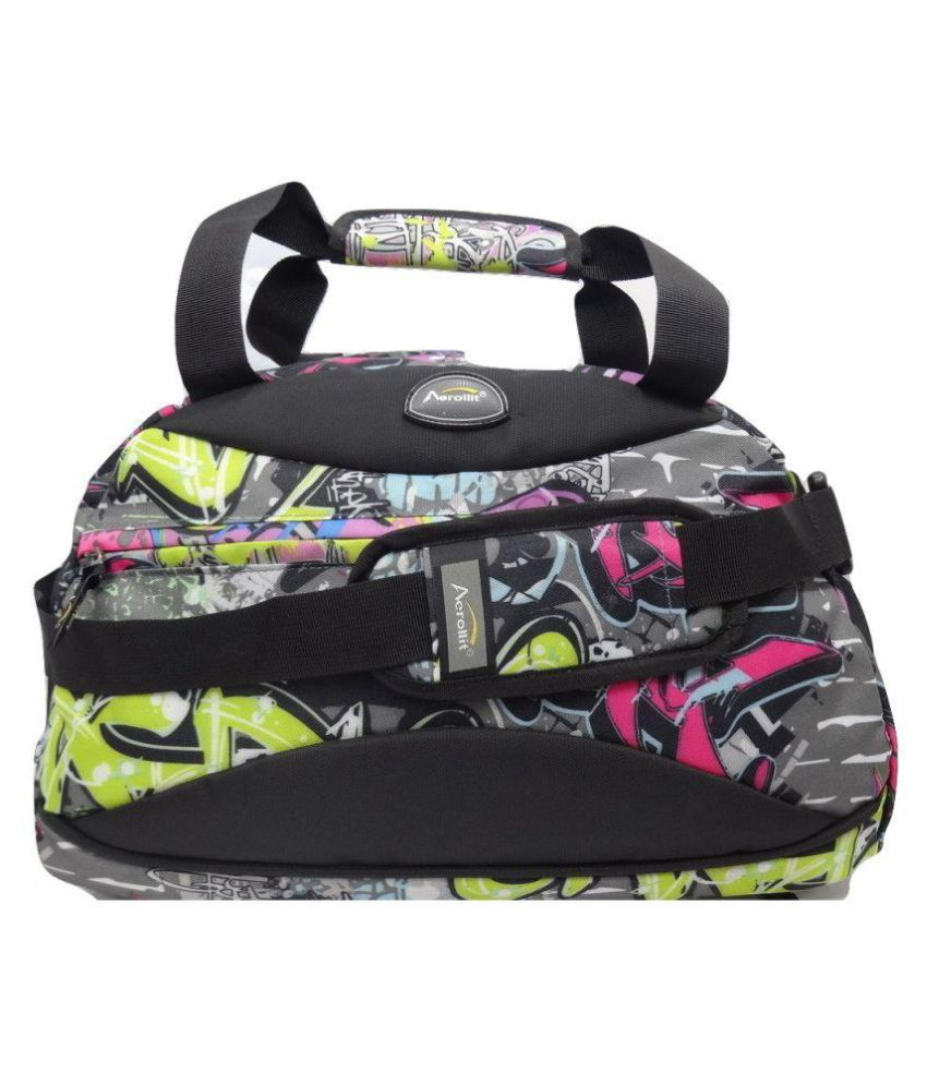 Aerollit Multicolor Gym Bag