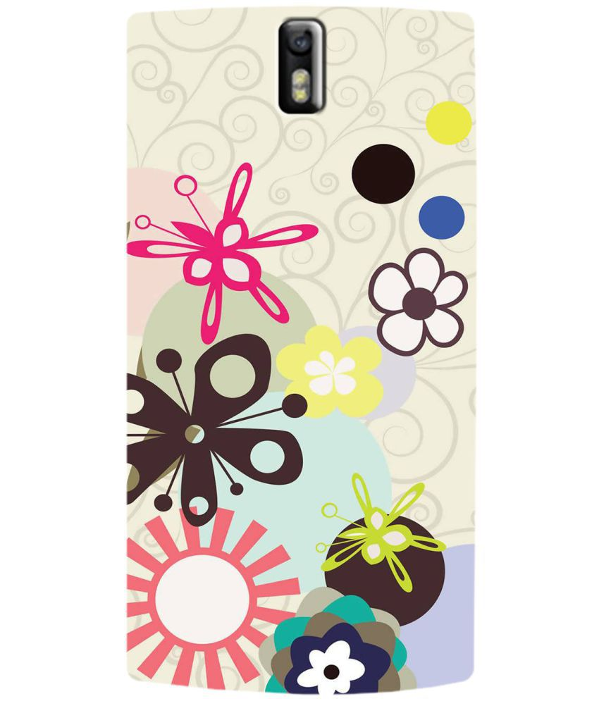 OnePlus One Printed Cover By SWAGMYCASE