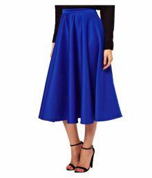 Liebemode Satin A-Line Skirt