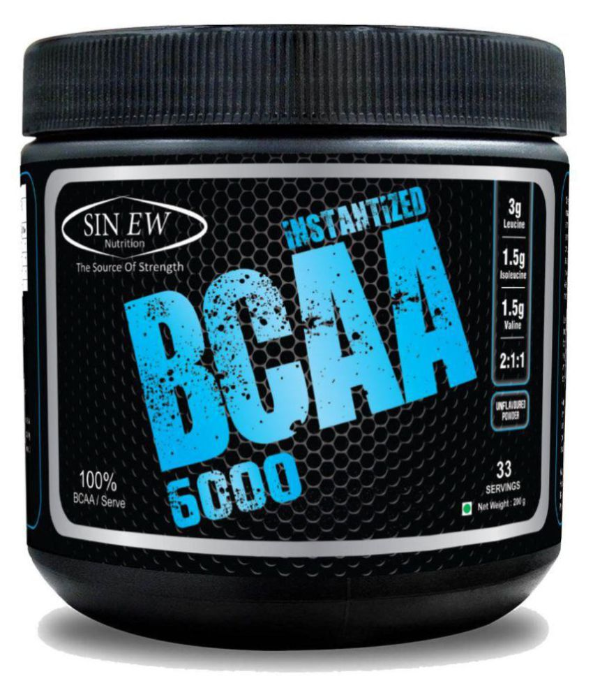 Sinew Nutrition Instantized BCAA 2:1:1, 200 gm