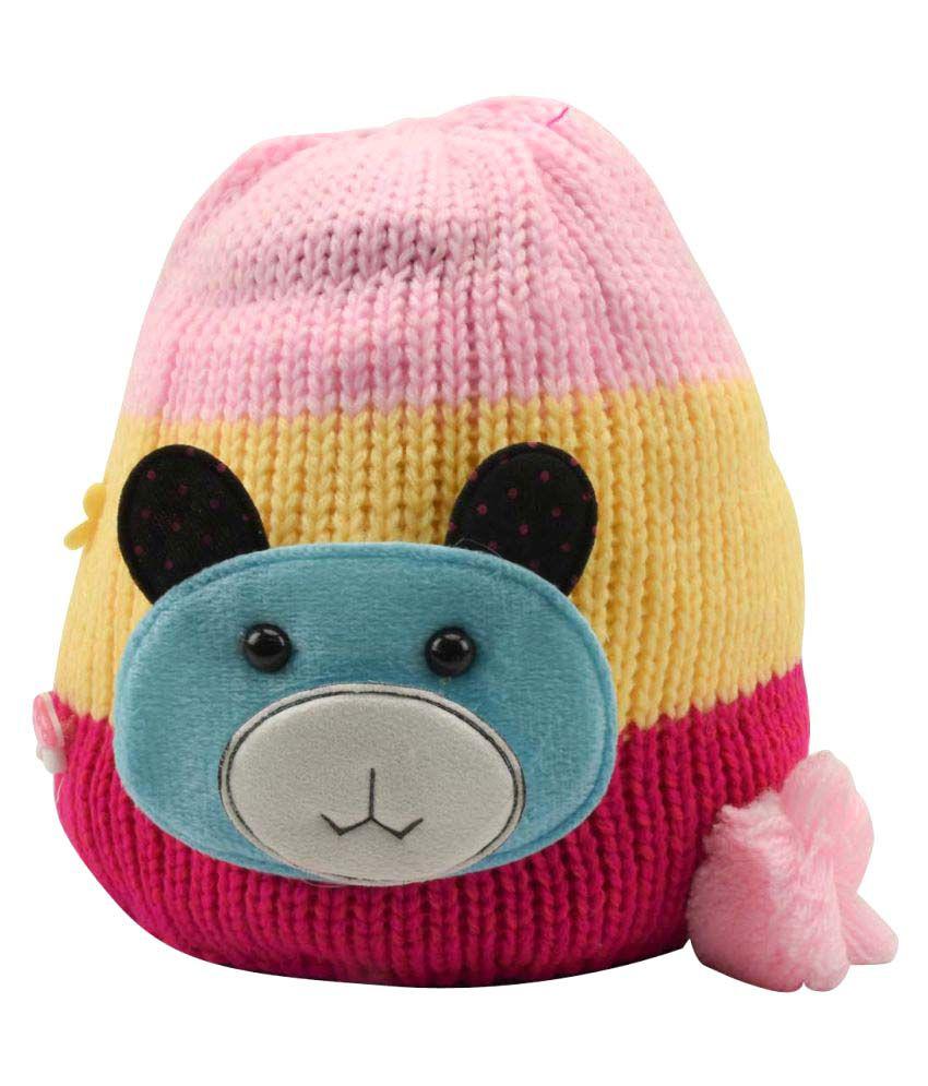 Tiekart Multi Woollen Kids Warm Cap