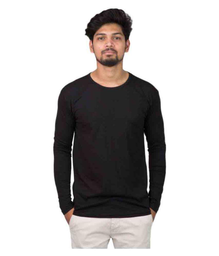 Desitudes Black Round T-Shirt