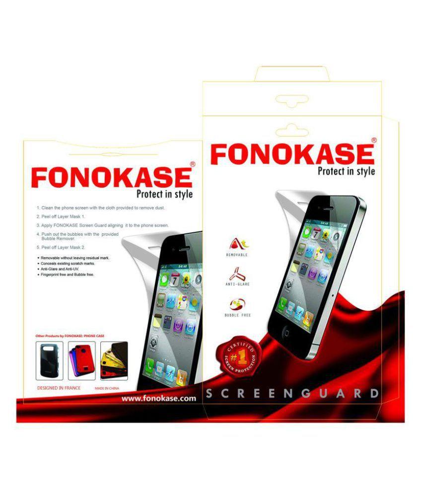 Apple iPhone 7 Clear Screen Guard By Fonokase