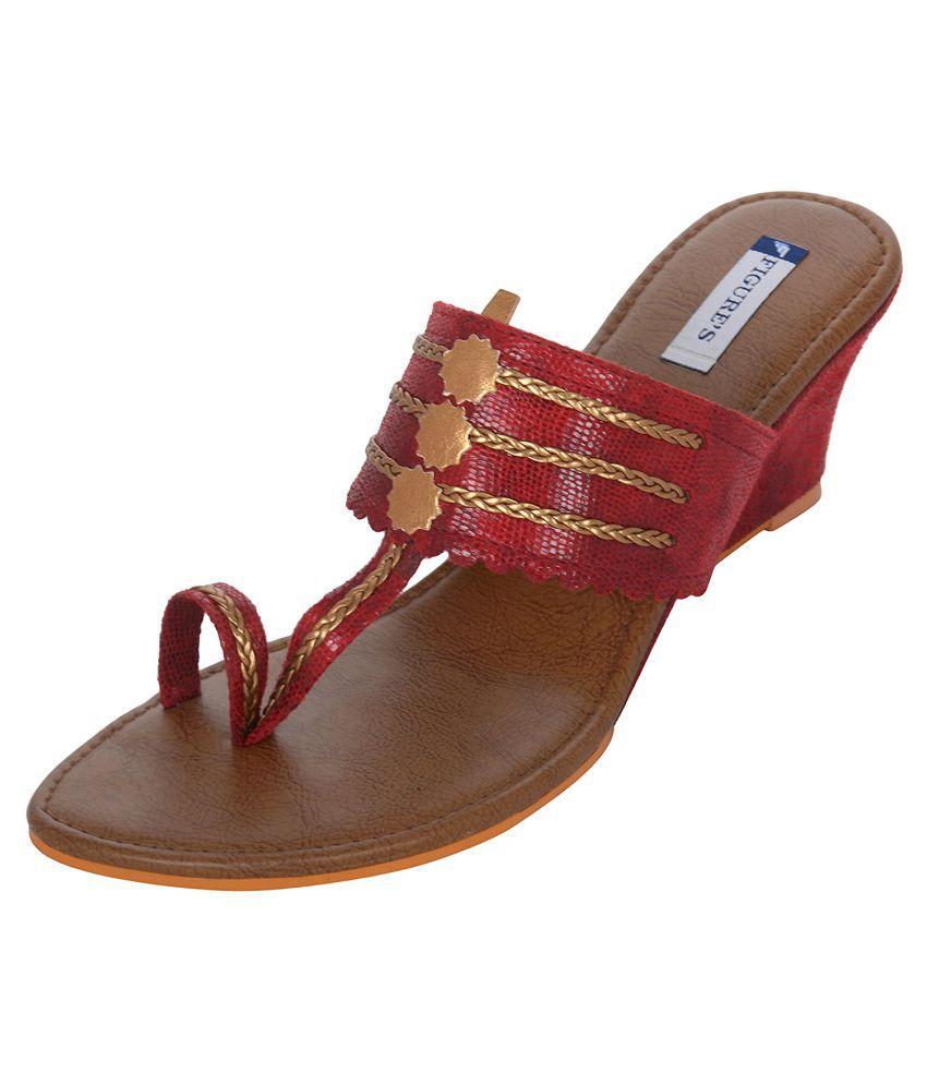 Figure's Maroon Heels