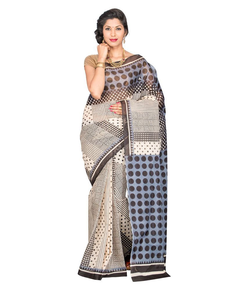 Mitasha Multicoloured Mangalgiri Cotton Saree