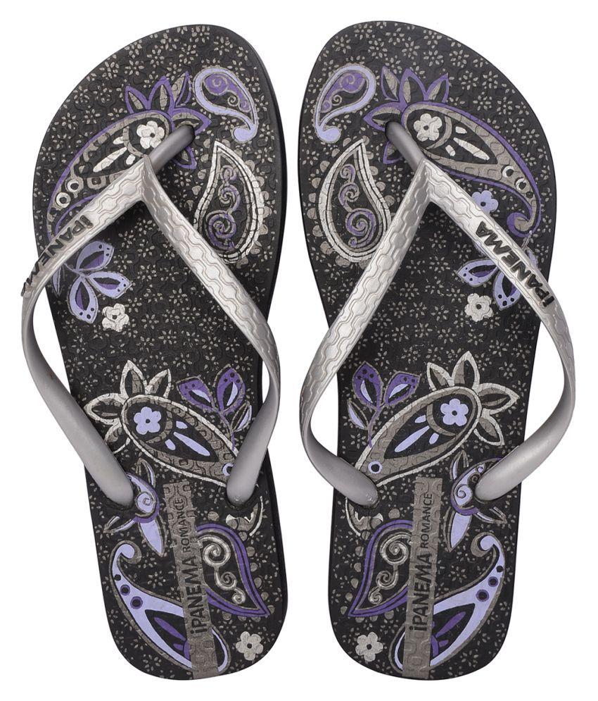 Ipanema Silver Slippers