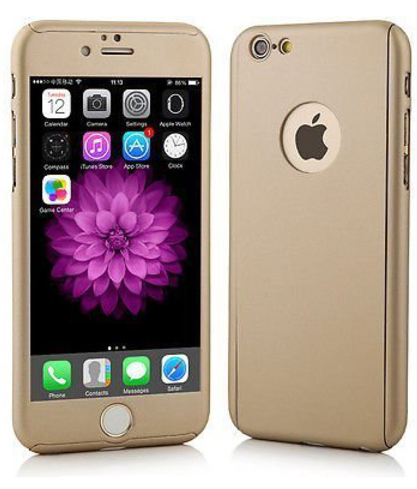 Apple iPhone 6 Plus Cover by Galaxy Plus - Golden