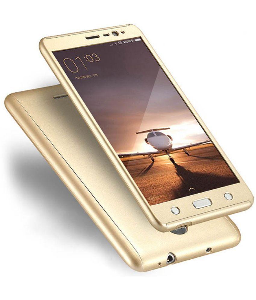 Xiaomi Redmi 3s Prime Cover by Galaxy Plus - Golden