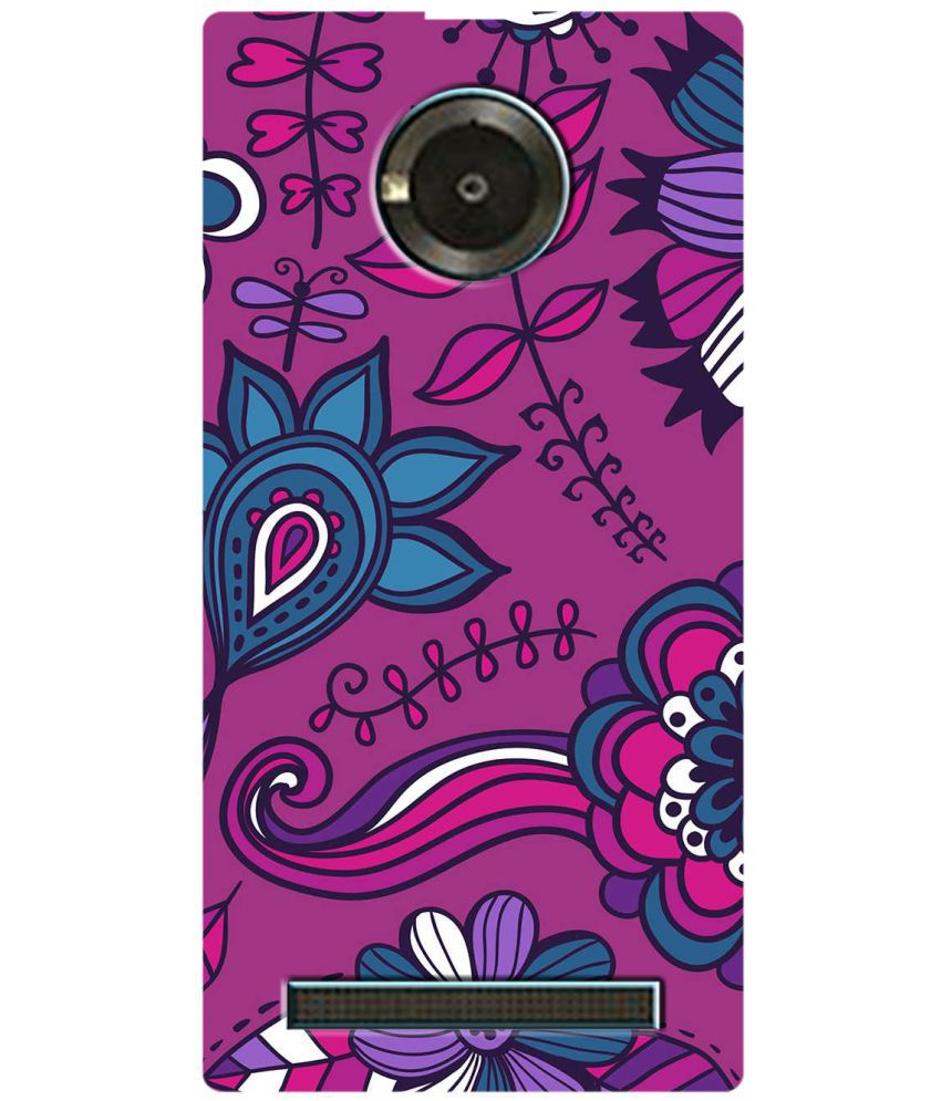 Micromax Yu Yuphoria Printed Cover By SWAGMYCASE