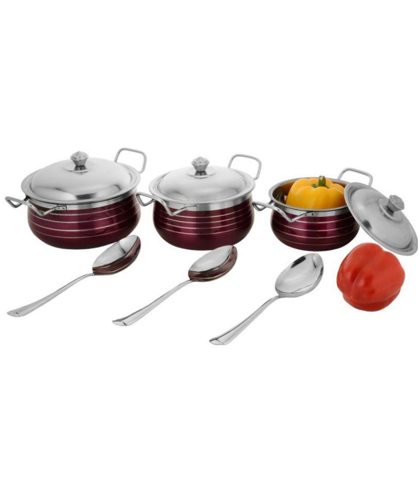 Classic Essentials Enamle Cookware Set 9 Cook n Serve Casseroles
