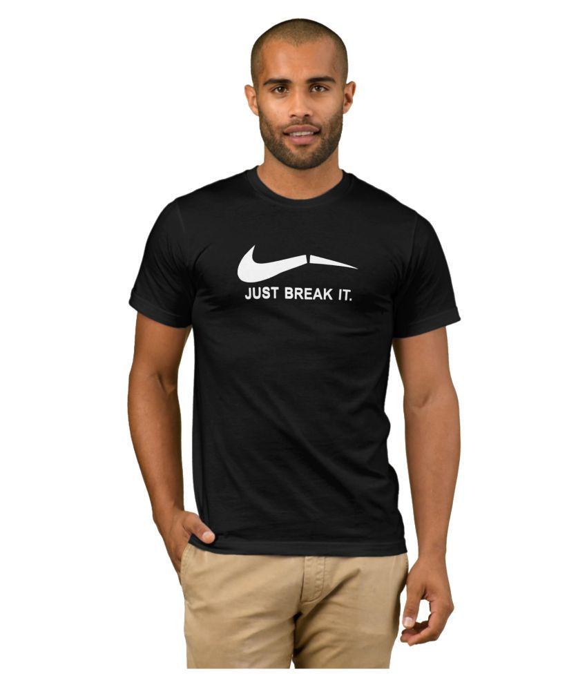 ZeniuZ Black Round T-Shirt
