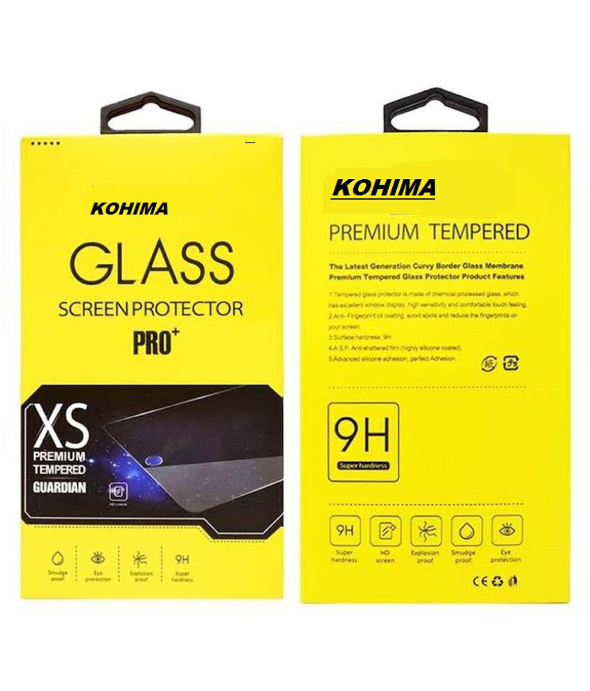 Moto X3 Clear Screen Guard By KOHIMA