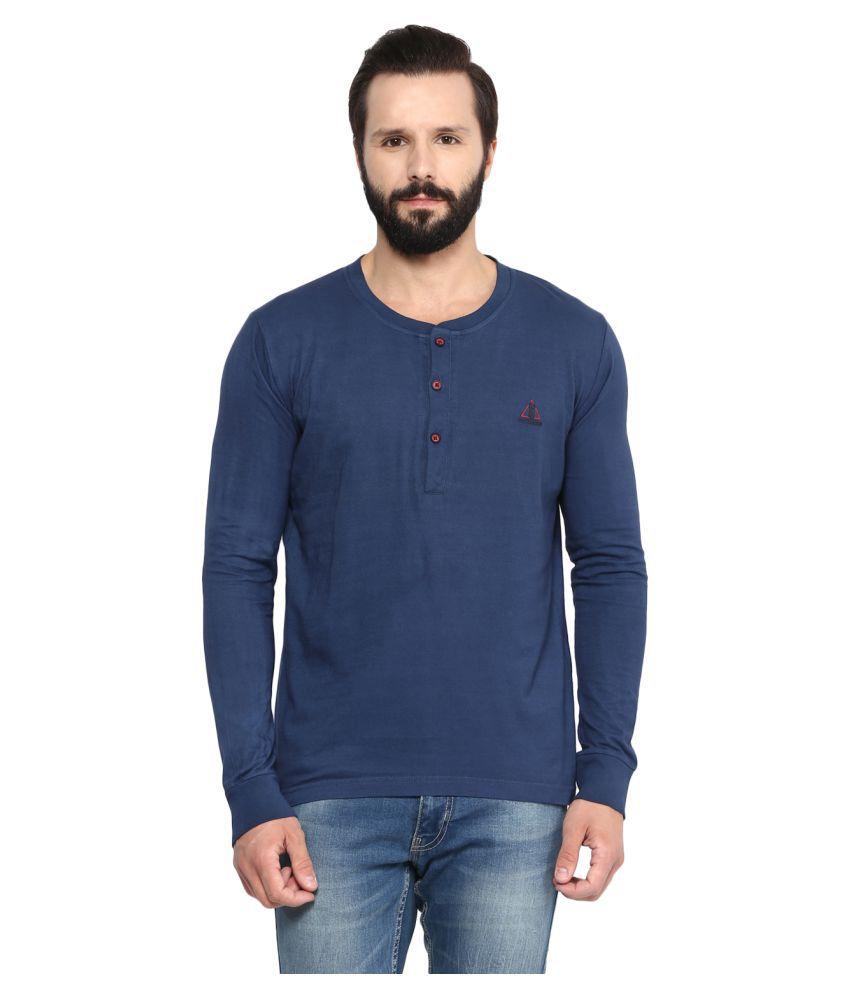 Fritzberg Navy Henley T-Shirt