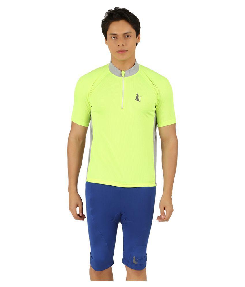 Leopardskyn Green T-Shirt
