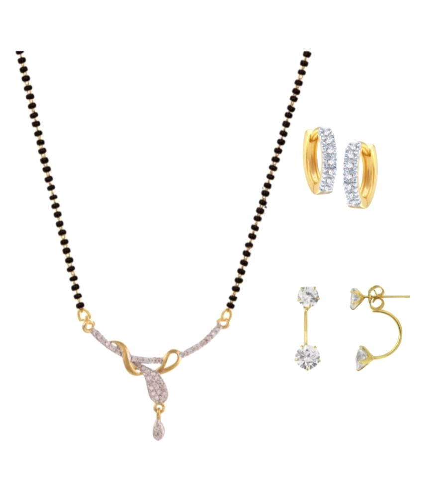 Parijaat CZ Mangalsutra for women