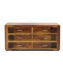 Evok Nakshatra Solid Wood Chest Of Drawers