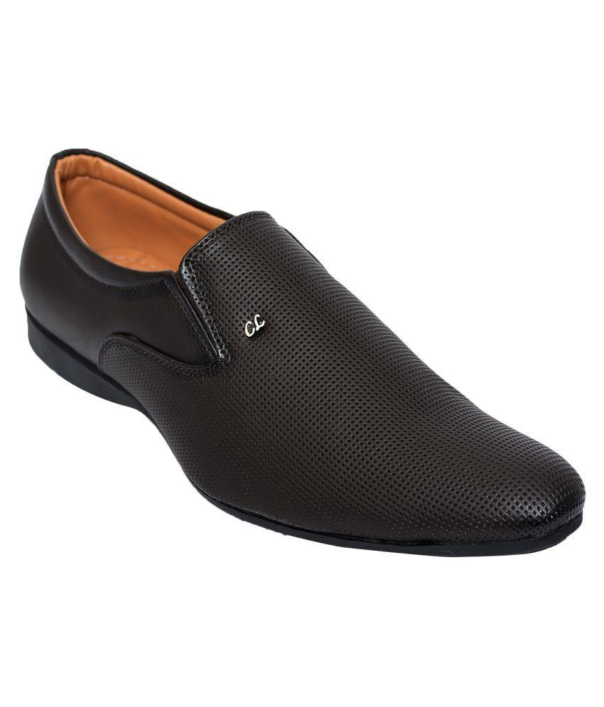 Desi Juta Black Slip On Non-Leather