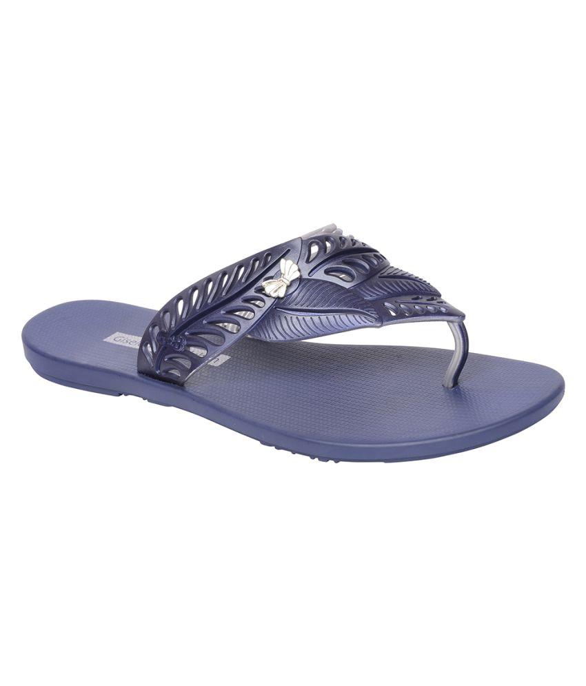 Ipanema Blue Slippers