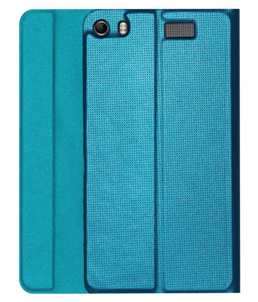 new product d592e 8cd4d Lenovo Phab Plus Designer Tri-Fold Flip Case Cover By ACM Turquoise