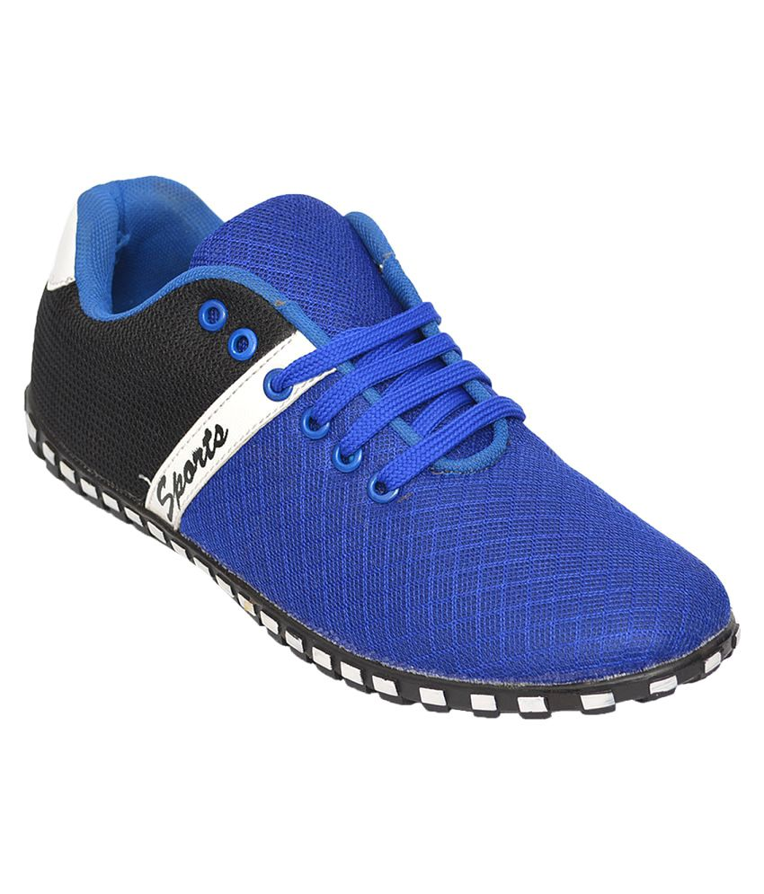 Desi Juta Blue Running Shoes