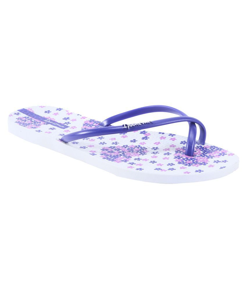 Ipanema Purple Flip Flop