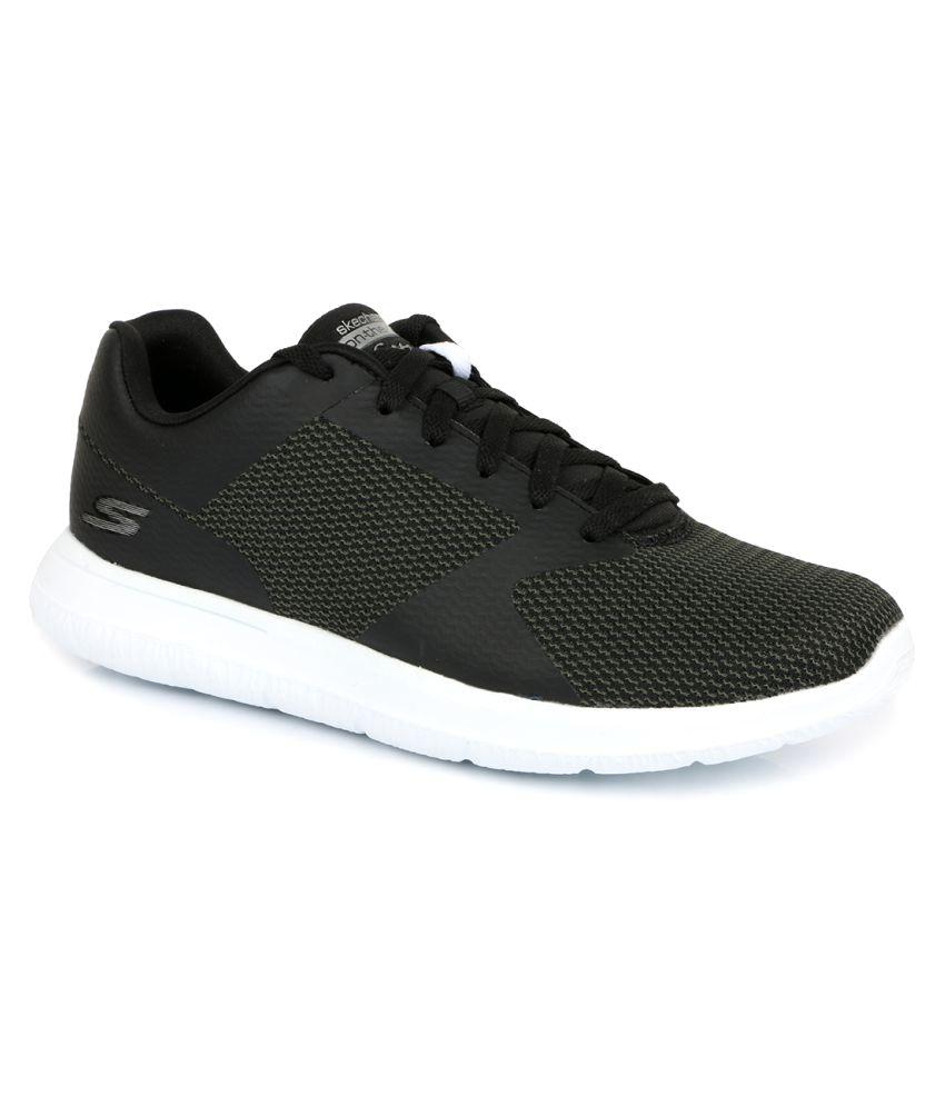 skechers black running shoes buy skechers black running