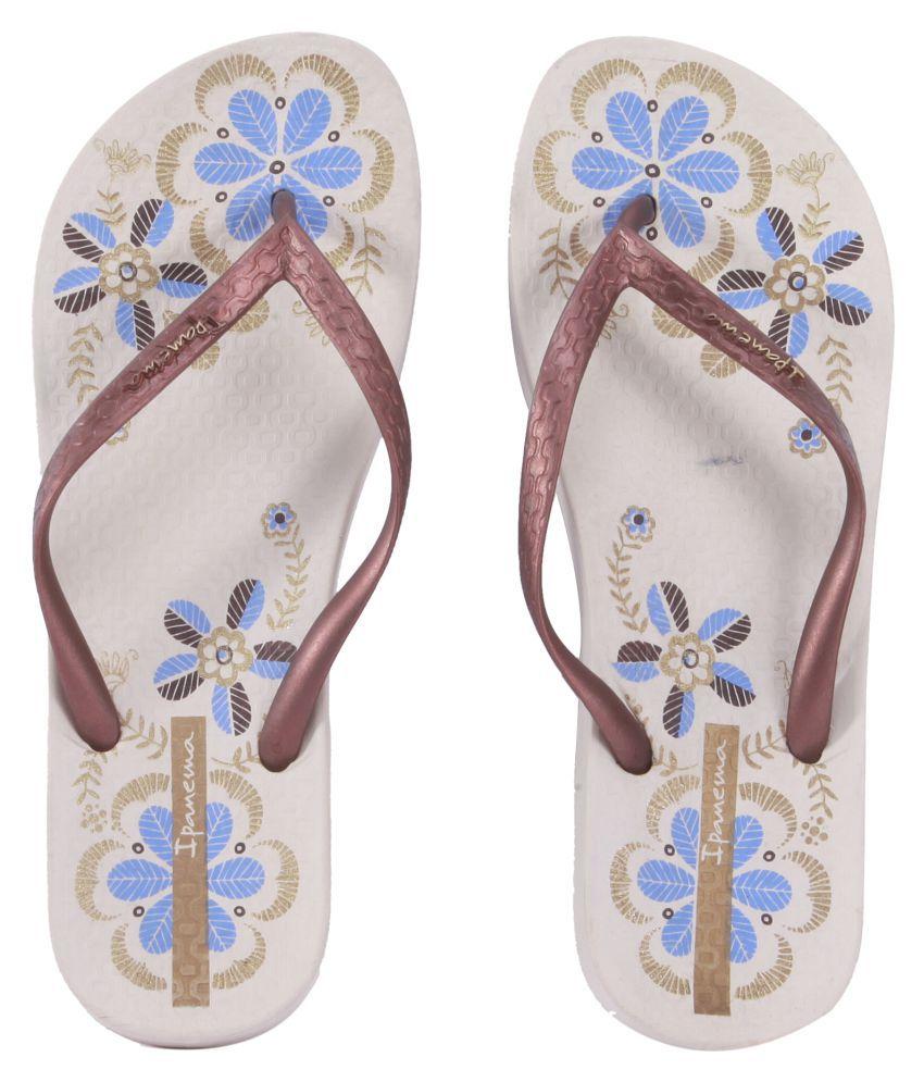 Ipanema Brown Slippers