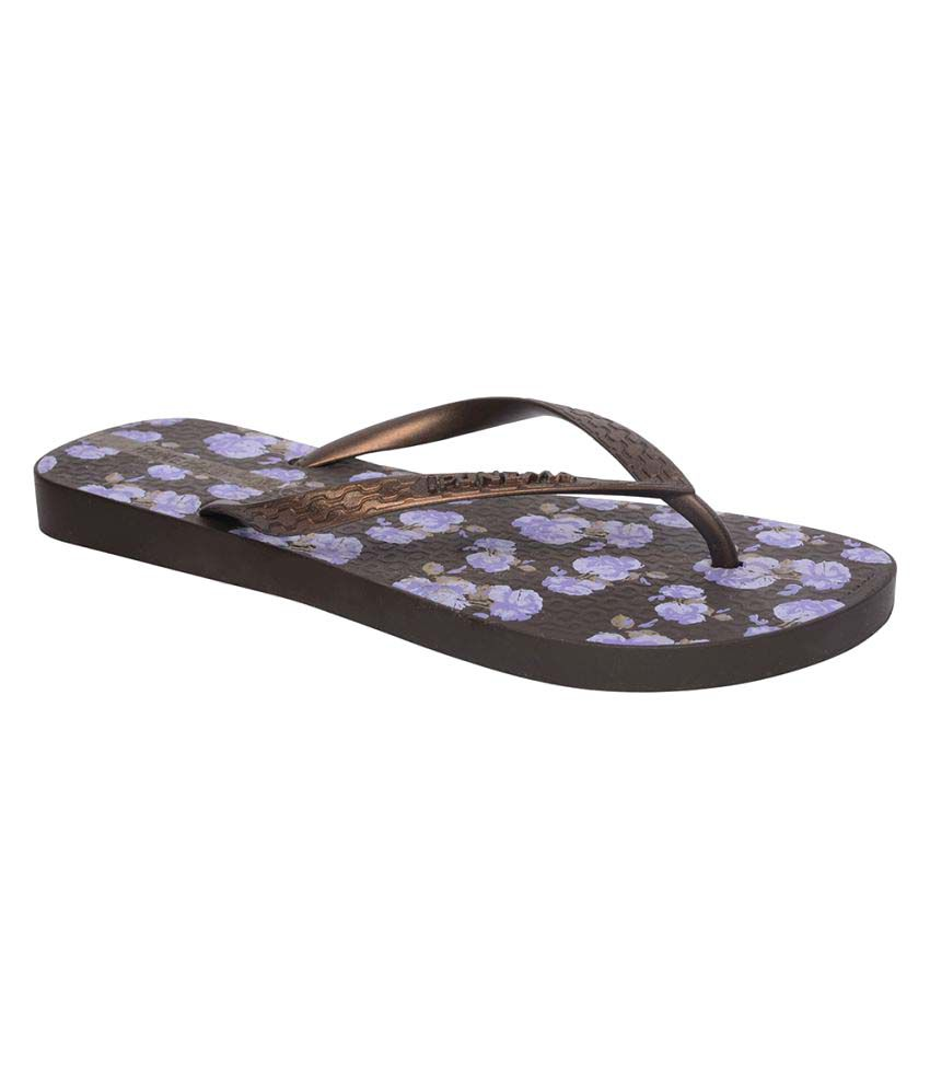 Ipanema Brown Slippers