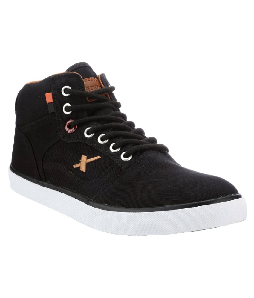 a3d43deeae7b Sparx Sneakers Black Casual Shoes - Buy Sparx Sneakers Black Casual Shoes  Online at Best Prices in India on Snapdeal