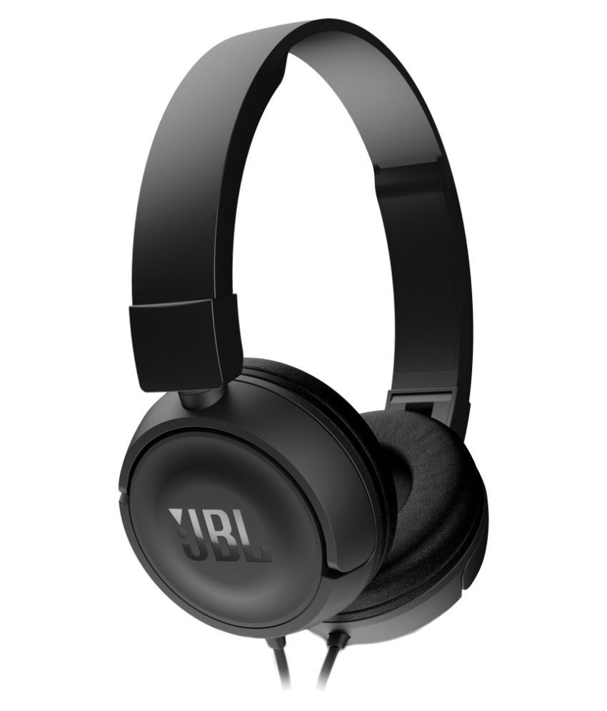 5d0a6d54a27 JBL T450 On Ear Wired Headphones With Mic Black - Buy JBL T450 On Ear Wired  Headphones With Mic Black Online at Best Prices in India on Snapdeal