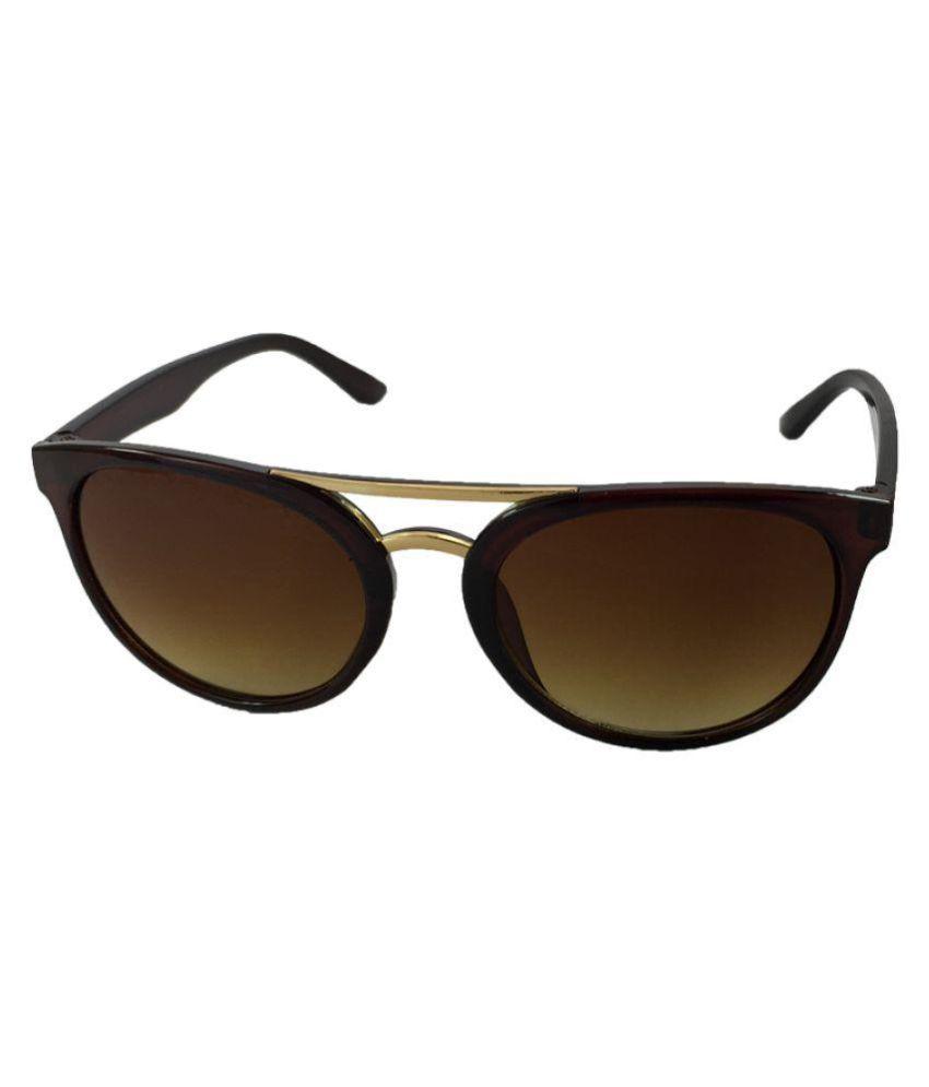 Juria Brown Wayfarer Sunglasses ( cpy6981-brwn )