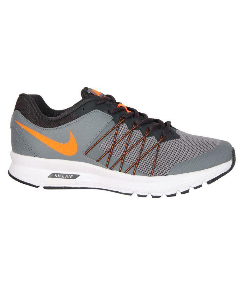 Nike AIR RELENTLESS 6 MSL Gray Running Shoes
